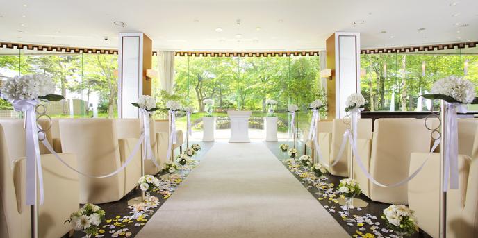 プレミアホテル 中島公園 札幌 チャペル(四季を感じながら愛を誓う☆セゾンチャペル)画像2-1