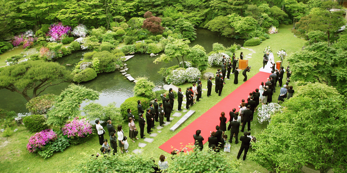 四季彩一力 ブラッサムガーデン セレモニースペース(ガーデン人前式)画像1-1
