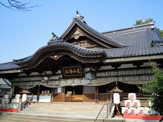 尾山神社 結婚式場 金渓閣 神殿(尾山神社 拝殿)画像1-1