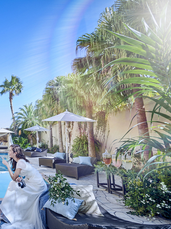 ONE&ONLY ル・グラン・ミラージュ 全天候型大階段とプール付ガーデン!画像1-2