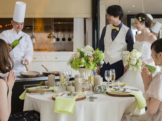 HARMONIE TERRASSE WEDDING HOTEL(アルモニー テラッセ ウエディング ホテル) チャペル(【110名可能】Chapelle de Ciel)画像2-4