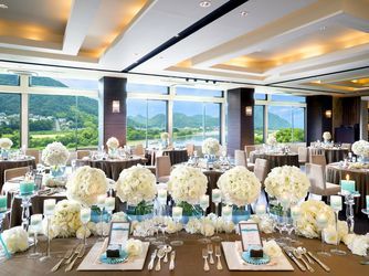HARMONIE TERRASSE WEDDING HOTEL(アルモニー テラッセ ウエディング ホテル) チャペル(【110名可能】Chapelle de Ciel)画像2-3