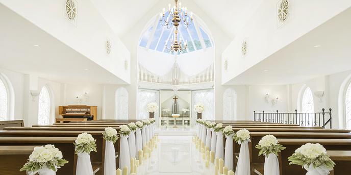 ルーデンス立川ウエディングガーデン チャペル(クワトロ・アンジェロ教会)画像1-1