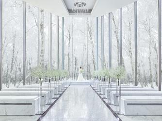 ANELLI 軽井沢(アネーリ 軽井沢) チャペル(【全面ガラスチャペル】軽井沢の森を一望!)画像1-2