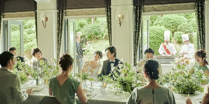 GAMAGORI CLASSIC HOTEL(蒲郡クラシックホテル) MY SWEET DINNING画像1-1