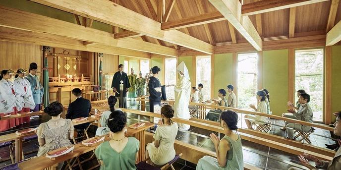 GAMAGORI CLASSIC HOTEL(蒲郡クラシックホテル) 神殿(杜と海の社)画像1-1
