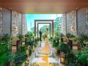 軽井沢プリンスホテル フォレスターナ軽井沢:同式場には2つのチャペルとガーデン挙式会場、神殿など多彩な挙式会場が揃う