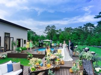 軽井沢プリンスホテル フォレスターナ軽井沢:チャペルやパーティールーム、ロケフォトなどどこにいても感じることのできる開放感が魅力!
