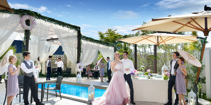 LEBAPIREO(レガピオーレ)-urban villa wedding- チャペル(ゲストも主役?!みんなで楽しむパーティー)画像2-1