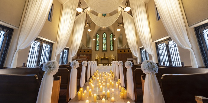 LEBAPIREO(レガピオーレ)-urban villa wedding- チャペル(今年春、リニューアル!天空のチャペル)画像1-1