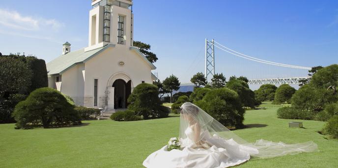 シーサイドホテル舞子ビラ神戸 セレモニースペース(ガーデン挙式)画像1-1