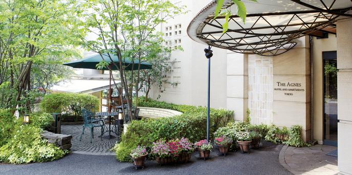アグネス ホテル アンド アパートメンツ 東京 外観画像1-1