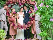 アルモニーサンク ウエディングホテル(HARMONIE CINQ WEDDING HOTEL) ガーデン画像2-4