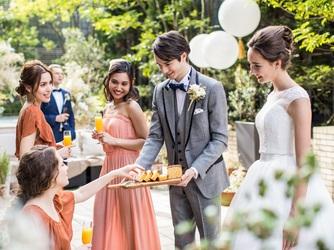 アルモニーサンク ウエディングホテル(HARMONIE CINQ WEDDING HOTEL) ガーデン画像2-2