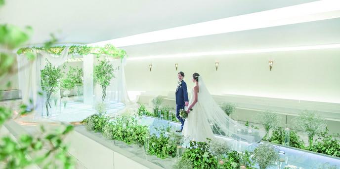 アルモニーサンク ウエディングホテル(HARMONIE CINQ WEDDING HOTEL) 世界にひとつだけのドラマッチなセレモニー画像1-1