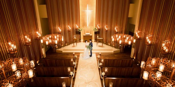覚王山ル・アンジェ教会 チャペル(非日常空間を貸切って大人のウエディングを)画像1-1