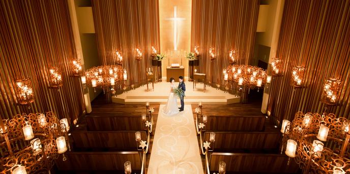 覚王山ル・アンジェ教会 チャペル(非日常空間を貸切って大人のウエディングを)画像2-1