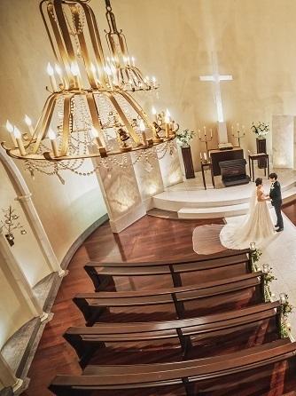 北山ル・アンジェ教会 教会(自然光差し込む独立型本格教会)画像1-1