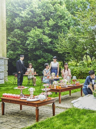 ベルヴィ ディアナ・マリエール セレモニースペース(ガーデンパーティー~緑溢れる貸切空間~)画像2-1