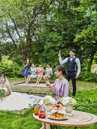 ベルヴィ ディアナ・マリエール セレモニースペース(ガーデンパーティー~緑溢れる貸切空間~)画像2-2