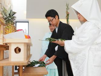 スタイリッシュウェディング ヴィーナスコート 佐久平 セレモニースペース(神前式)画像2-2