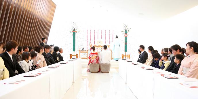 スタイリッシュウェディング ヴィーナスコート 佐久平 セレモニースペース(神前式)画像1-1