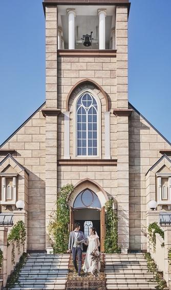 ウエディングヒルズ アジュール チャペル(セントミッシェル教会)画像1-1