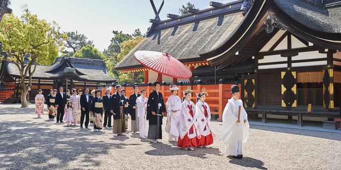 住吉大社 神社(花嫁行列)画像1-1