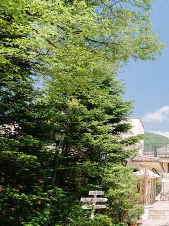 VILLAS DES MARIAGES 軽井澤(ヴィラ・デ・マリアージュ 軽井澤) セレモニースペース(|旅をしてでも訪れたい|祝福の降る町)画像1-1