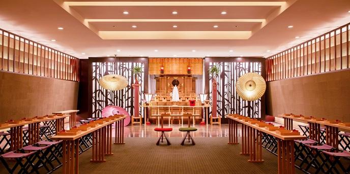 ANAクラウンプラザホテル福岡 神殿(憧れの和装が映える神殿/光翼(つばさ))画像1-1