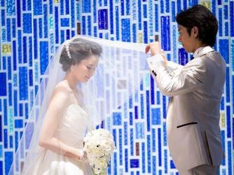 秋田ビューホテル チャペル(青のチャペル「ラポール・ブリュ」)画像2-2