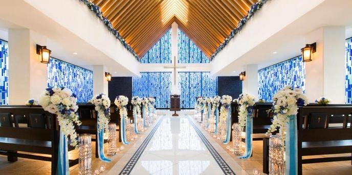 秋田ビューホテル チャペル(青のチャペル「ラポール・ブリュ」)画像1-1