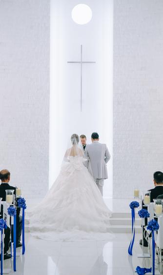GRAND BRAND'S CAN wedding(グランブランカン ウェディング) チャペル(ここにしかない純白のチャペル世界遺産認定)画像2-1