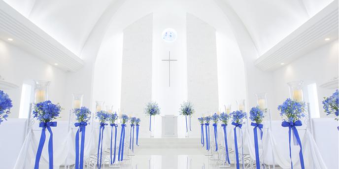 GRAND BRAND'S CAN wedding(グランブランカン ウェディング) チャペル(ここにしかない純白のチャペル世界遺産認定)画像1-1