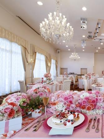 「最高の一日」~Wonderful Wedding~ 【リニューアル】したパーティ会場画像1-1