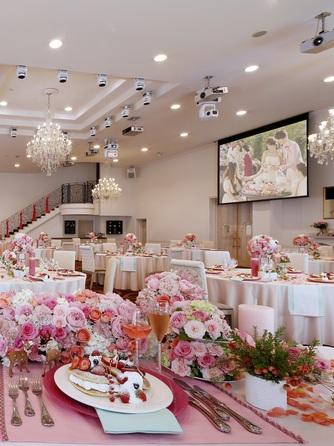 「最高の一日」~Wonderful Wedding~ 【リニューアル】したパーティ会場画像1-2