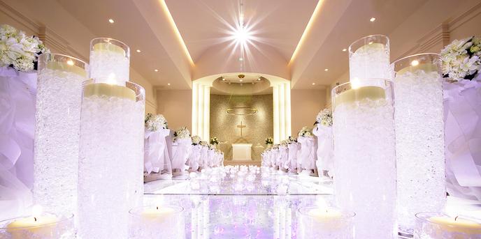 「最高の一日」~Wonderful Wedding~ チャペル(重厚感あるチャペル演出で永遠の誓いを)画像1-1
