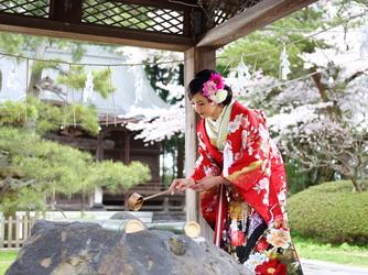 フレンチレストラン 千秋亭 神社(彌高神社)画像2-4