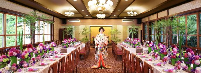 フレンチレストラン 千秋亭 四季折々の自然に囲まれた和モダン空間画像2-1