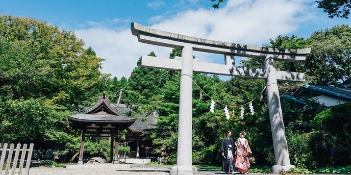 フレンチレストラン 千秋亭 神社(彌高神社)画像1-1
