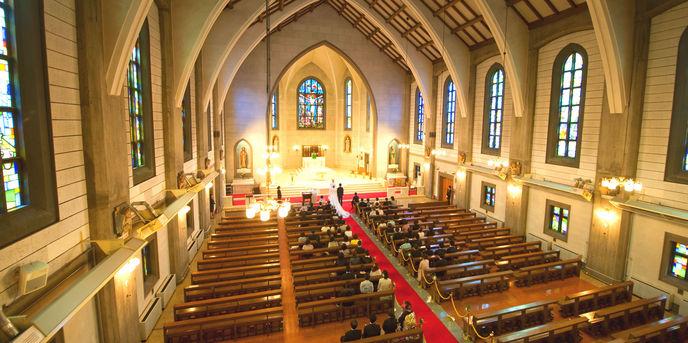 カトリック布池教会内 聖ヨゼフ館 教会(カトリック布池教会)画像1-1