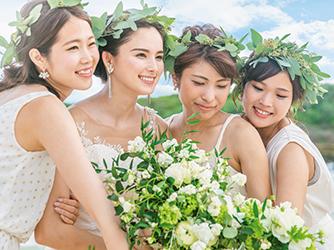 アラマンダ チャペル(シギラベイサイドスイート アラマンダ):一年中美しい花々が彩るプライベートガーデンで寛ぎのひとときを。