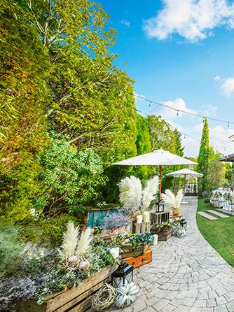 アイネスヴィラノッツェ宝ヶ池 森のチャペルとガーデン付邸宅を1日貸切画像1-1