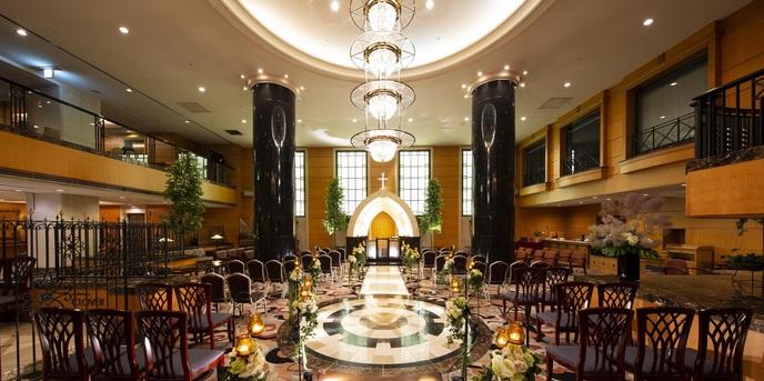 ホテルメトロポリタン盛岡 NEW WING チャペル(アトリウムウエディング『エストレーノ』)画像1-1