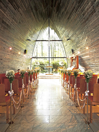 箱根の森高原教会・ホテルグリーンプラザ箱根 チャペル(箱根の森高原教会)画像1-2
