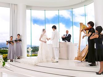 スギノイ ホテル&リゾート(SUGINOI Hotel&Resort) チャペル(AQUA MARINE CHAPEL)画像2-3