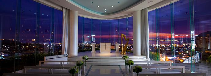 スギノイ ホテル&リゾート(SUGINOI Hotel&Resort) チャペル(AQUA MARINE CHAPEL)画像2-1