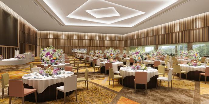 杉乃井ホテル&リゾート(SUGINOI Hotel&Resort) ひかりホール画像1-1