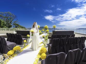 鳥羽国際ホテル セレモニースペース(【テラス人前式】見渡す限り広がる海と空)画像2-2