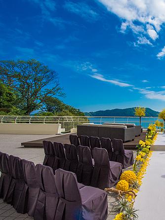 鳥羽国際ホテル セレモニースペース(【テラス人前式】見渡す限り広がる海と空)画像1-1